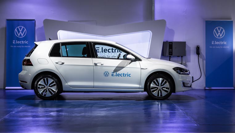 e-Golf image from the side